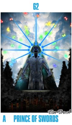 Absolut Tarot - Prince of Swords by Eon-Brush.deviantart.com on @deviantART