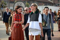70 Bellissima Milan Street-Style Shots #refinery29 my fave girls Mira and jxxsy