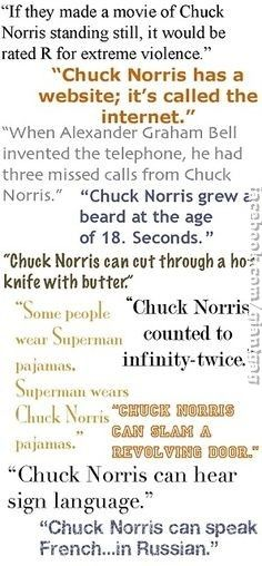 Chuck Norris Funny Quotes