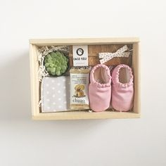 Cutest gift for a baby shower or welcoming present for a baby girl! Little Lady Box - by Box and Bow Shop