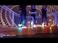 Awesome Tron LED Dance with LED shoes by Electric Styles - YouTube