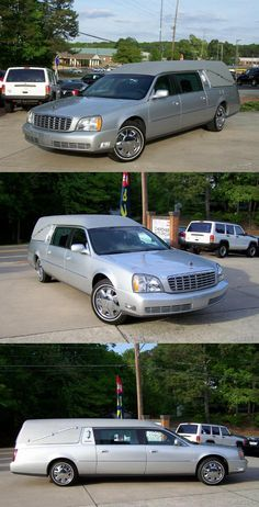 2003 Cadillac Deville Hearse [low miles] Silver Car, Silver Paint, Cadillac, Engineering, Leather, Silver Color, Technology
