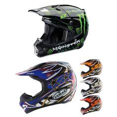 One Industries Gamma Monster Off Road MX Helmet w/ FREE Vemar VRX5 Off Road Helmet