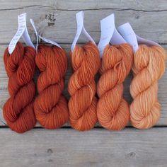 Cygnus - Gradient Set | Miss Babs Hand-Dyed Yarns & Fibers, Inc.