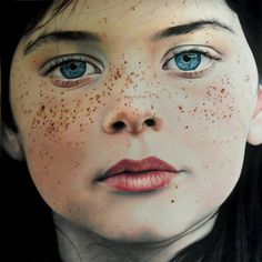 Amazing color pencil portrait by Amy Robins