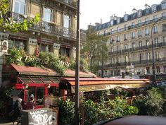 Beautiful Cafe in Paris by jonathan_mville, via Flickr
