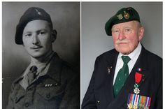 Thank You, Thank You, Thank You All!  Touching Photos Of Normandy Veterans, Then And Now