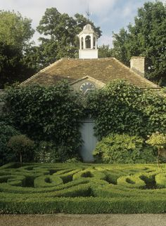 I am in awe of anyone that's willing to weed around this hedge!!!!!! ~ Beautiful Gardens ~