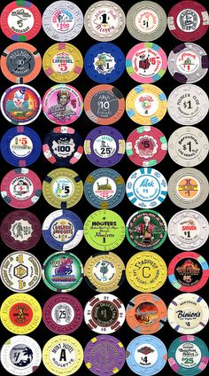 Las Vegas Casino Chips by Emmit V, via Flickr
