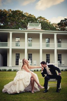 Awesome house in the background. Awesome House, Happily Ever After, Wedding Bells, Cute Pictures, Photo Ideas, Wedding Photography, Wedding Ideas, Pop, Shots Ideas