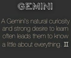 Discovered by clea. Find images and videos about fact, zodiac and gemini on We Heart It - the app to get lost in what you love. Gemini Quotes, Zodiac Signs Gemini, Zodiac Quotes, Zodiac Facts, Gemini Traits, Gemini Life, Gemini Woman, Gemini Compatibility, Gemini And Cancer