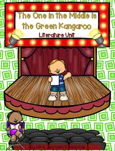 The One in the Middle is the Green Kangaroo written by Judy Blume is a great story help teach reading strategies such as character development.  https://www.teacherspayteachers.com/Product/The-One-in-the-Middle-is-the-Green-Kangaroo-Literature-Study-25180