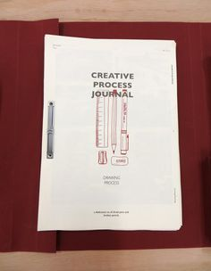 2013 // Creative Process Journal by Shanlyn Chew, via Behance