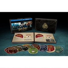 Harry Potter Hogwarts Edition (BD/DVD/UV) 31 Disc Collection