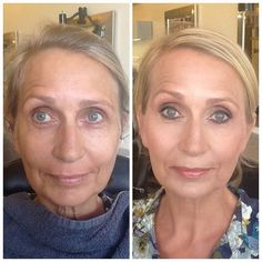 Younique before and after - Younique's foundations cannot be beat!  www.youniqueproducts.com/Lashes4you