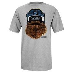 Reebok St. Louis Blues 2014 Playoff Beard T-Shirt - Gray Nhl Chicago b5422bf4f
