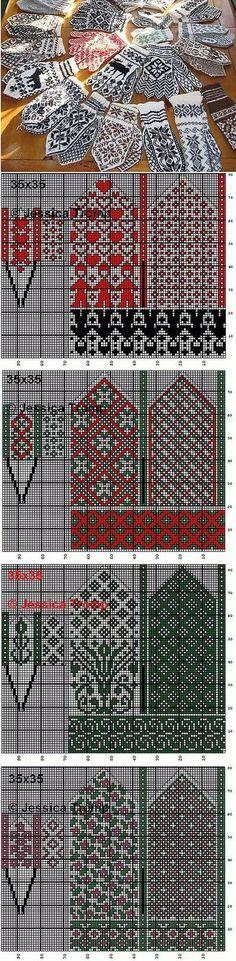 ЖАККАРД | Записи в рубрике ЖАККАРД | Дневник Belenaya | Вязание - варежки, перчатки, митенки | Постила: