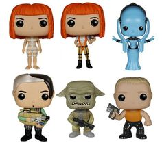 Enter To Win A Set Of 'The Fifth Element' Funko Pop Figures! [Giveaway] (ends 9/14/15)