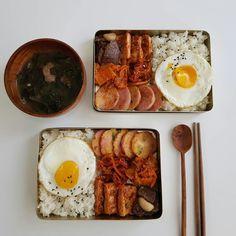 Asian Recipes, Real Food Recipes, Yummy Food, K Food, Food Porn, Food Goals, Cafe Food, Bento, Aesthetic Food