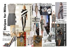 """""""Stripes for Miles"""" by creation-gallery ❤ liked on Polyvore featuring 10 Crosby Derek Lam, Carolina Herrera, Christian Louboutin, Christian V Siriano, Manolo Blahnik, Marc Jacobs and J. Mendel"""