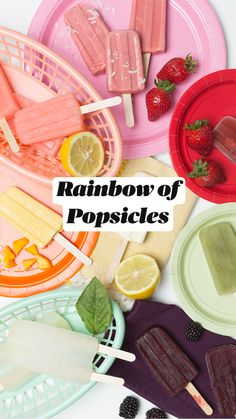 Yummy Treats, Delicious Desserts, Sweet Treats, Yummy Food, Strawberry Sangria, Homemade Popsicles, Ice Popsicles, Food Design, Set Design