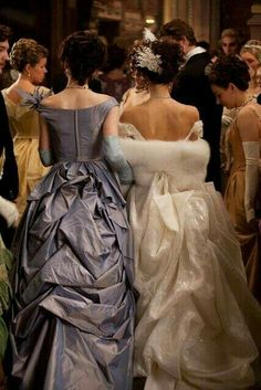 """Keira Knightley and Michelle Dockery, """"Anna Karenina"""", Costume design by Jacqueline Durran. Michelle Dockery, Classy Aesthetic, Princess Aesthetic, Keira Knightley, Movie Costumes, Ballet Costumes, Costume Design, Pretty Dresses, Queen"""