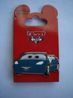 Disney Pin WDI Cars Radiator Springs Racer Ride Teal Girl vehicle LE 200 MOC