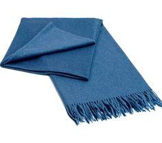 Elvang Classic Pledd Steel Blue