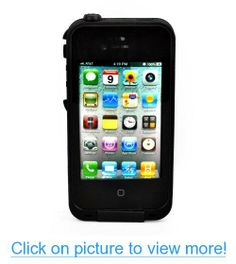 New Waterproof Shockproof Dirtproof Snowproof Protection Case Cover for Apple Iphone 4 4S (Black) #New #Waterproof #Shockproof #Dirtproof #Snowproof #Protection #Case #Cover #Apple #Iphone #4S #Black