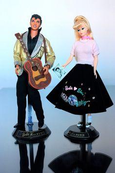 1996 Barbie® Loves Elvis Giftset by My lovely Barbie