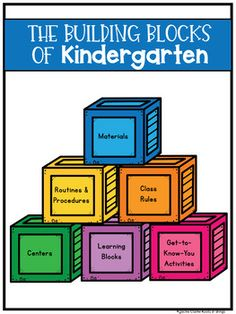 Use these planning sheets to build your kindergarten classroom kick-off plan, whether in-person or for distance learning. Each building block represents a different aspect of your program and will help you organize your thoughts and ideas to create a beginning of the year plan that works. The Buildi...