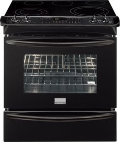 Gallery Collection Slide-In Electric Range with Quick Preheat and True Convection The Frigidaire gallery slide-in electric range is very versatile, durable and extremely efficient.