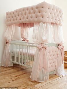 20 luxury baby cot designs and exquisite nursery rooms interiors is one of images from luxury baby furniture. Find more luxury baby furniture images like this one in this gallery Baby Crib Bedding, Baby Bedroom, Baby Room Decor, Nursery Room, Kids Bedroom, Star Nursery, Girl Nursery, Upholstered Crib, Canopy Crib
