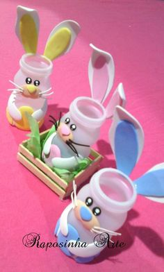 Easter Arts And Crafts Spring Crafts Christmas Crafts Diy For Kids Crafts For Kids Happy Easter Classroom Decor Cake Pops School Easter Arts And Crafts, Easter Projects, Bunny Crafts, Spring Crafts, Holiday Crafts, Diy And Crafts, Paper Crafts, Bottle Crafts, Preschool Crafts