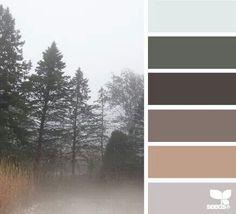 Foggy hues