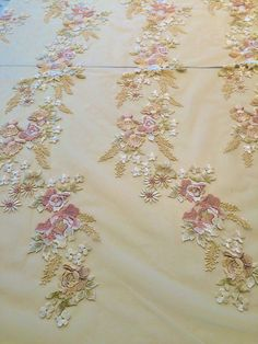 Floral Embroidered Netting