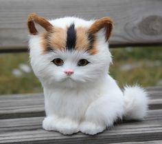 Lindo gato de pelúcia brinquedo do gato brinquedo de pelúcia boneca de presente 15 * 13 cm em Animais de pelúcia de Brinquedos & Lazer no AliExpress.com | Alibaba Group