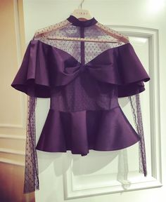 "TAFFETA TULLE BLOUSE Atelier (@libascouture): ""Ready to wear. #Libas #libasateliertoday #silk #taffeta #tule #blouse #fashion #style #individuality"" Silk Taffeta, Cheongsam, Pattern Fashion, Cape, Ready To Wear, Bell Sleeve Top, Ruffle Blouse, Blouses, Child"