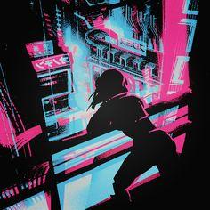 Motor Crush, Emo, Blade Runner 2049, Bubbline, Cyberpunk 2077, Ghost In The Shell, Spider Verse, Gorillaz, Vaporwave
