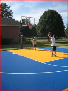 28 Sport Court Backyard Ideas Sport Court Backyard Outdoor Basketball Court