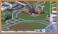 SimCity 3000 PC Games Gameplay