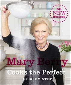 Mary Berry Cooks the Perfect features over 100 new recipes. What makes the book particularly special are the Keys to Perfection. For each recipe Mary identifies the crucial part to get right to guarantee best results, and then demonstrates it with step-by-step instructions.