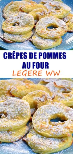Desserts With Biscuits, Ww Desserts, Crepes, Summer Recipes, Bagel, Voici, Doughnut, Nom Nom, Menu
