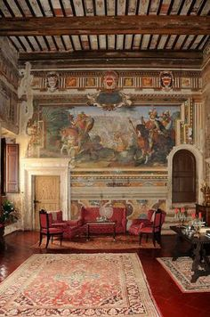 Montepulciano, Palazzo Tarugi... I never get enough of Italy....do they rent rooms here?