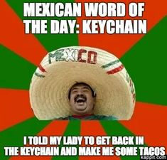 sombrero mexican mexican word of the day lysol hillary clinton