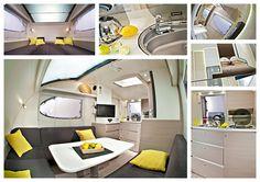 Adria Action Caravan 2012 interior