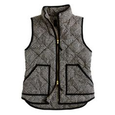 Excursion quilted vest in herringbone. I've been looking for this for SO long. I'm pretty sure they don't sell them anymore though :(