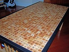 Charmant I Love The Idea Of Covering Coffee Tables With Hidden Messages U0026 Scrabble  Tiles.