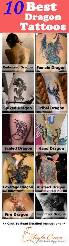Best Dragon Tattoos