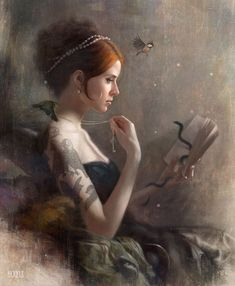 tombagshaw: 'Lost Thoughts' - From the Black Lodge series, featuring the lovely Catherine (Anna Lee suicide) who is unfortunately no longer...